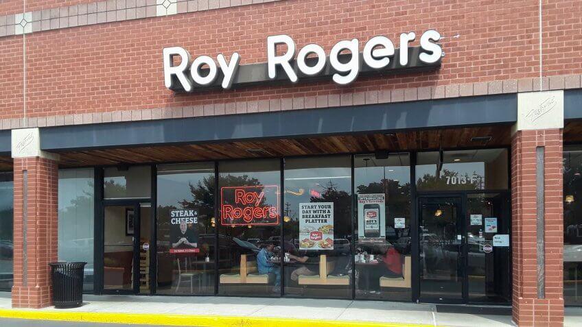 roy rogers restaurant.
