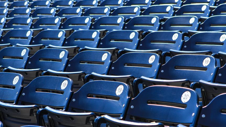 Stadium seats - background.