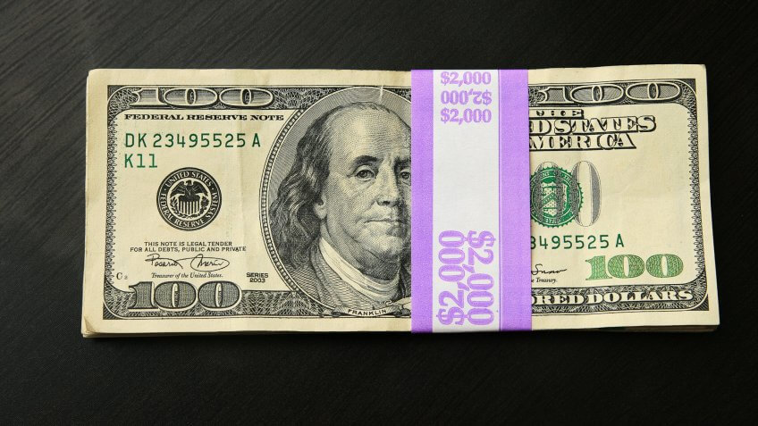 two thousand dollars us cash