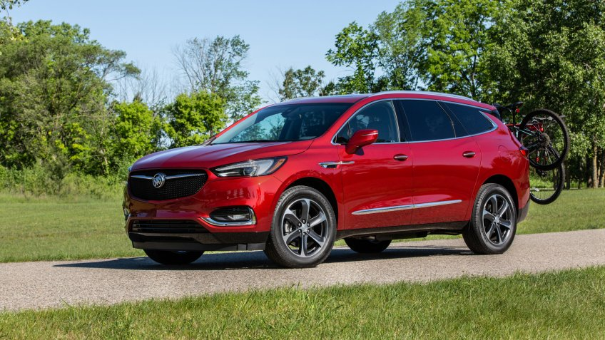 2020 Buick Enclave with Sport Touring package.