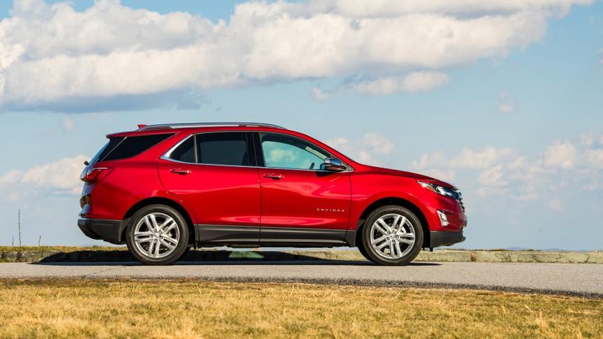2020 Chevrolet Equinox.