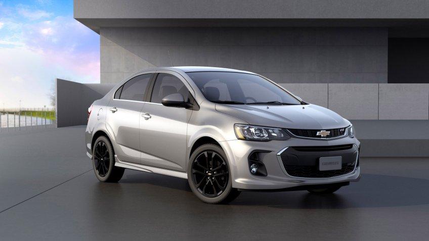 2020 Chevrolet Sonic.