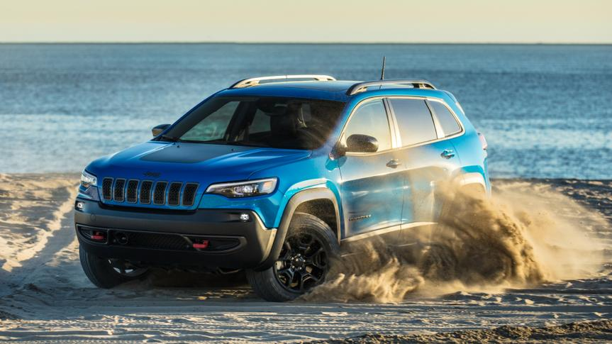 2020 Jeep® Cherokee Trailhawk.