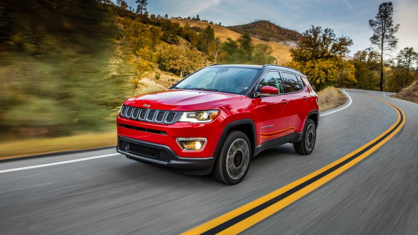 2020 Jeep® Compass Limited.