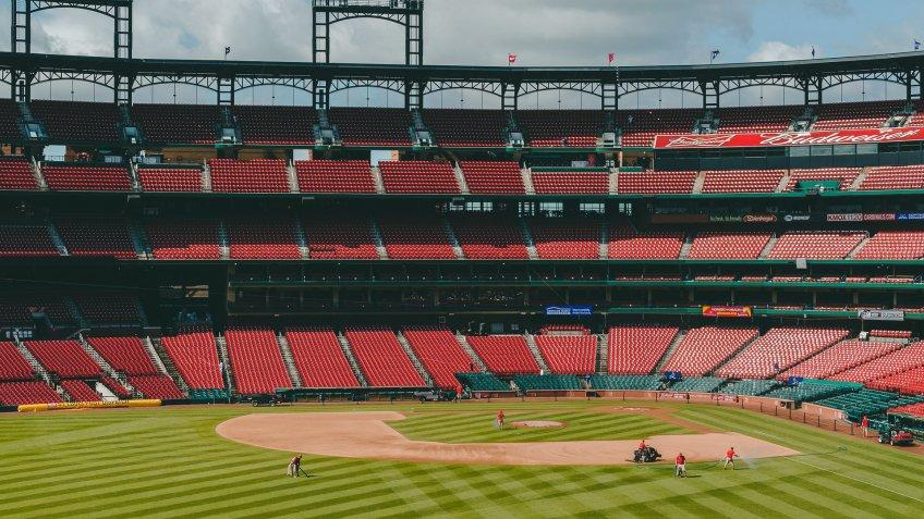 Busch Stadium baseball park