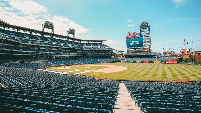 Citizens Bank Park baseball park