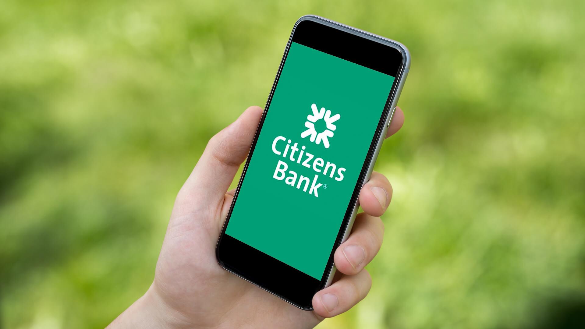 Citizens Bank mobile phone app