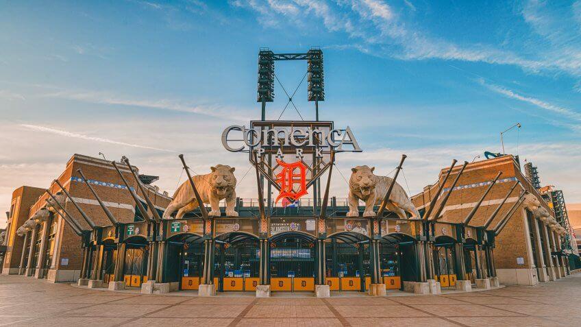 Comerica Park baseball park