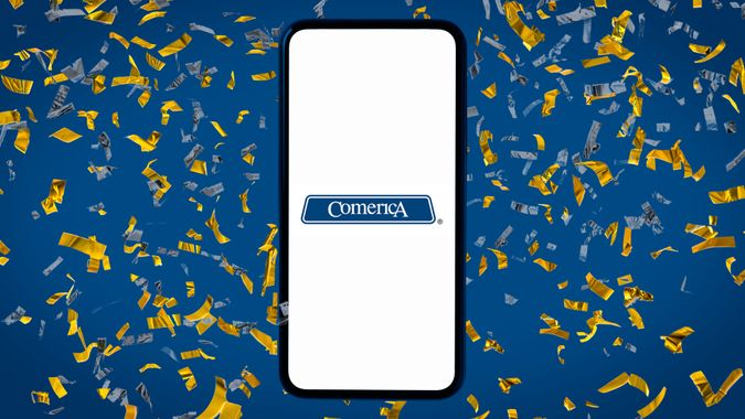 Comerica bank promotion