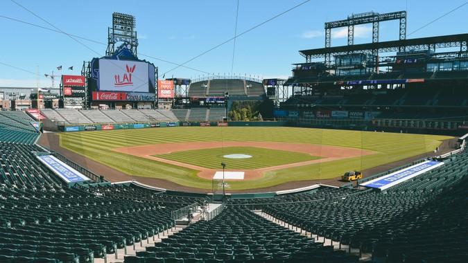 Coors Field baseball park