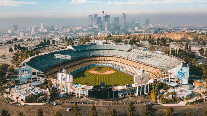Dodger Stadium baseball park