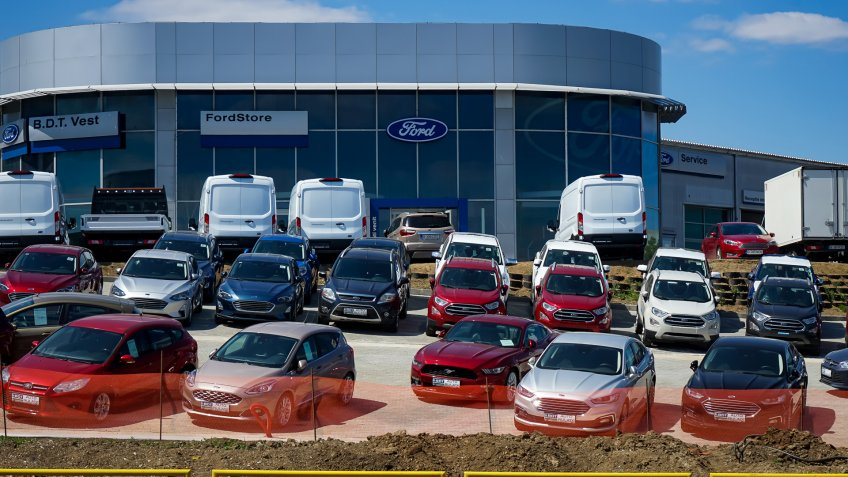 FORD car dealership