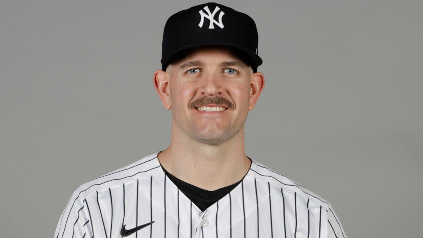 Mandatory Credit: Photo by Frank Franklin II/AP/Shutterstock (10568792eh)This is a 2020 photo of James Paxton of the New York Yankees baseball team.