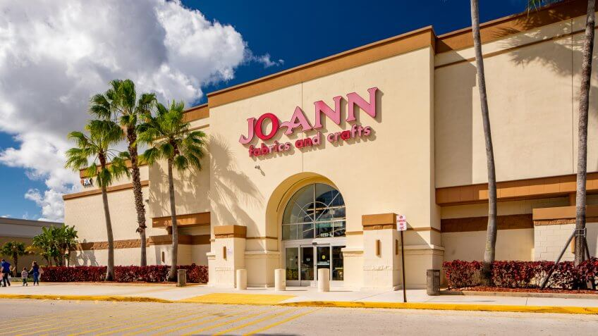 Joann fabric craft store