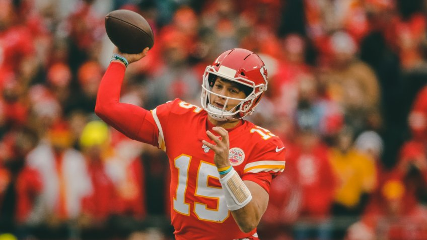 Kansas City Chiefs, quarterback, Patrick Mahomes