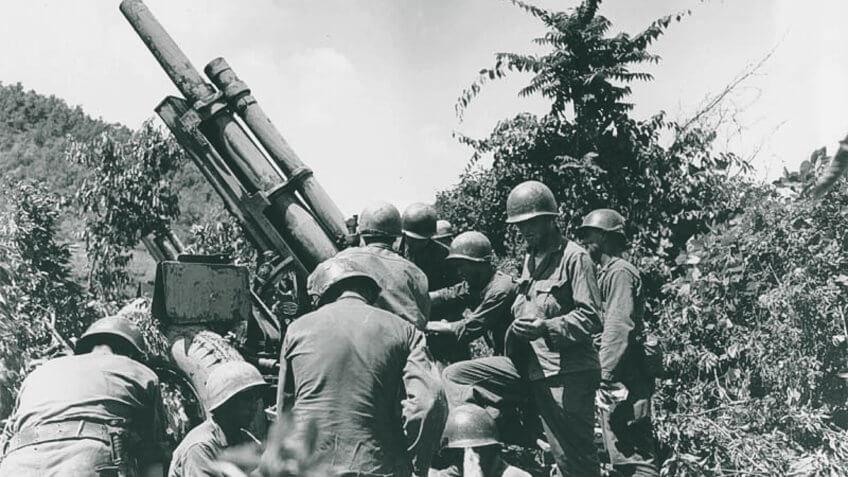 Korean War Signal Corps July 1950
