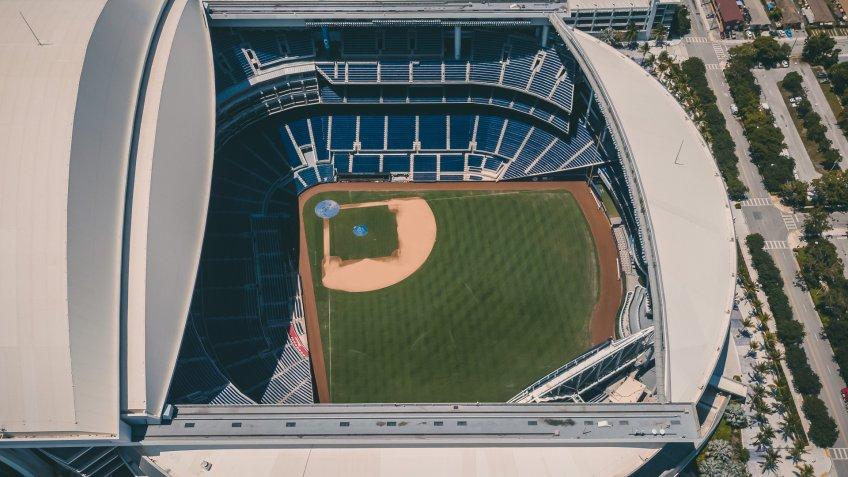 Marlins Park baseball park
