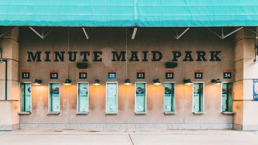 Minute Maid Park Texas baseball park