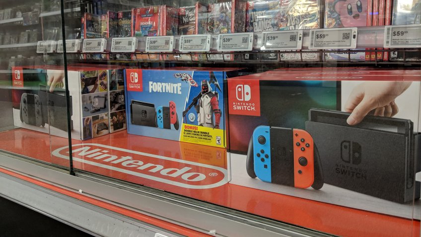 Nintendo switch at Best Buy