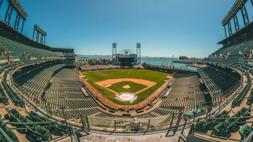Oracle Park baseball park