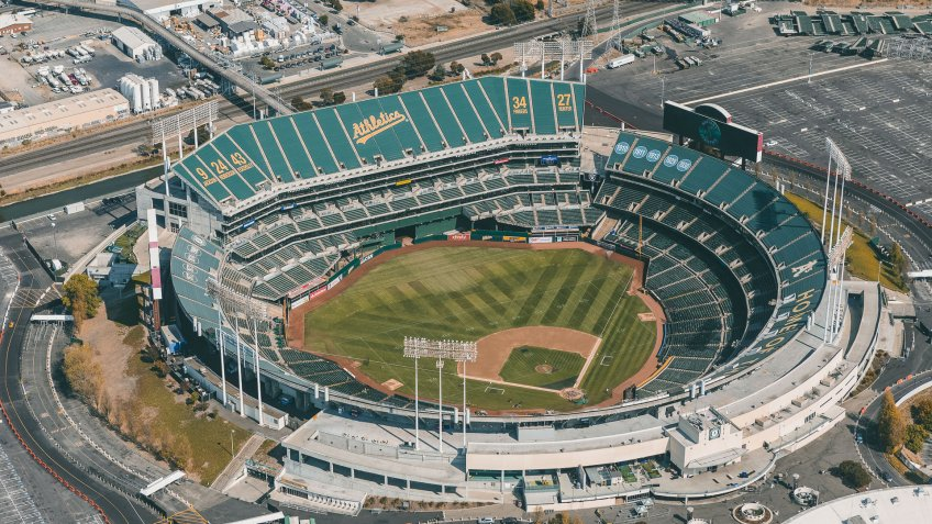 RingCentral Coliseum baseball park