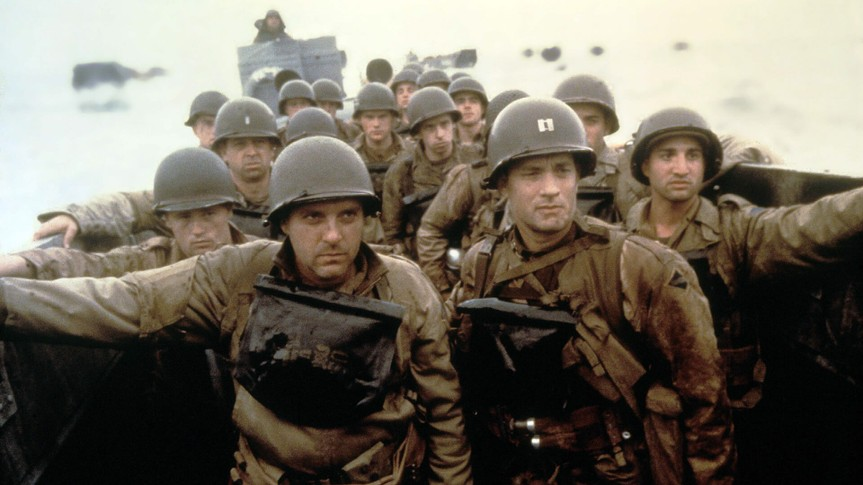 Saving Private Ryan blockbuster movie