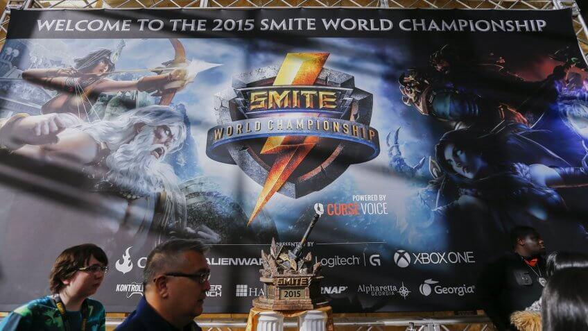 SMITE World Championship in Atlanta Georgia 2015