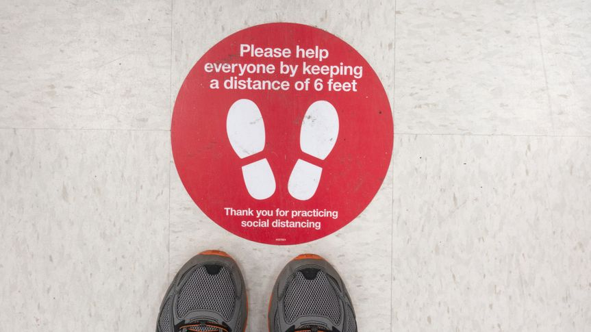 Target social distancing