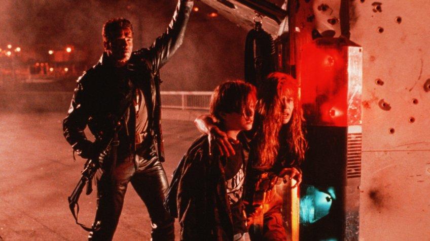 Terminator 2 Judgement Day blockbuster movie