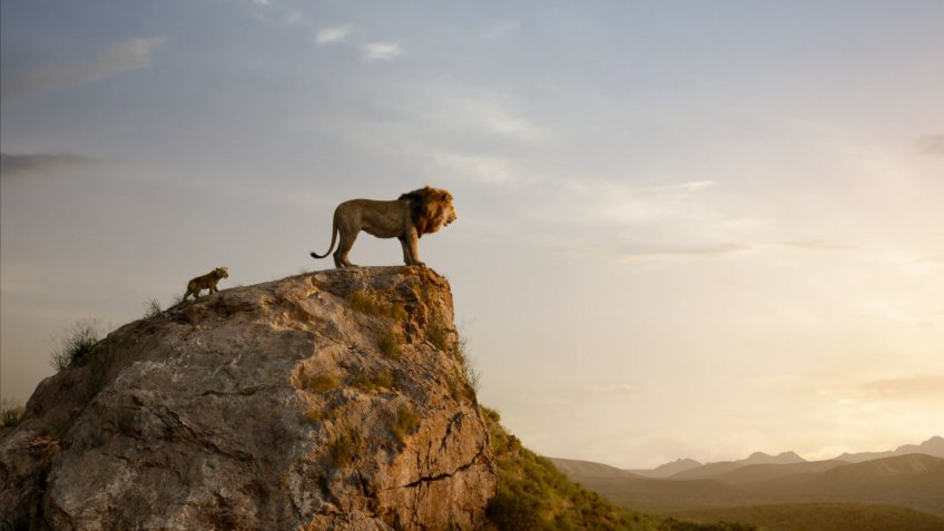 The Lion King blockbuster movie