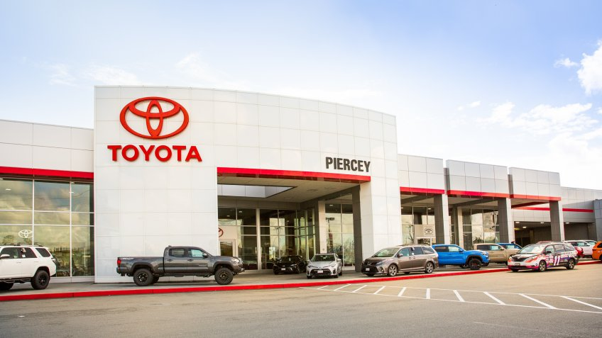 Toyota car dealership