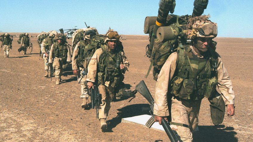 US Marines in Afghanistan 2001 Operation Enduring Freedom 2001