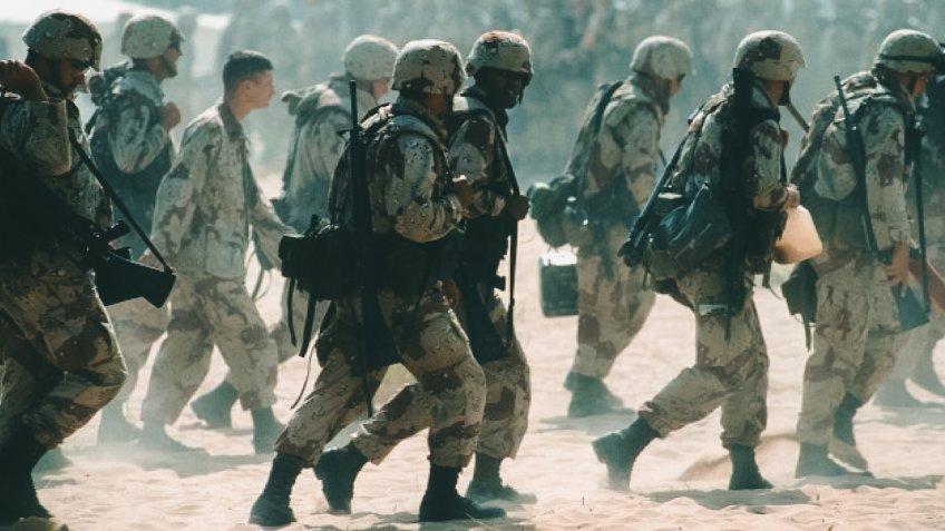 US Troops in Persian Gulf War