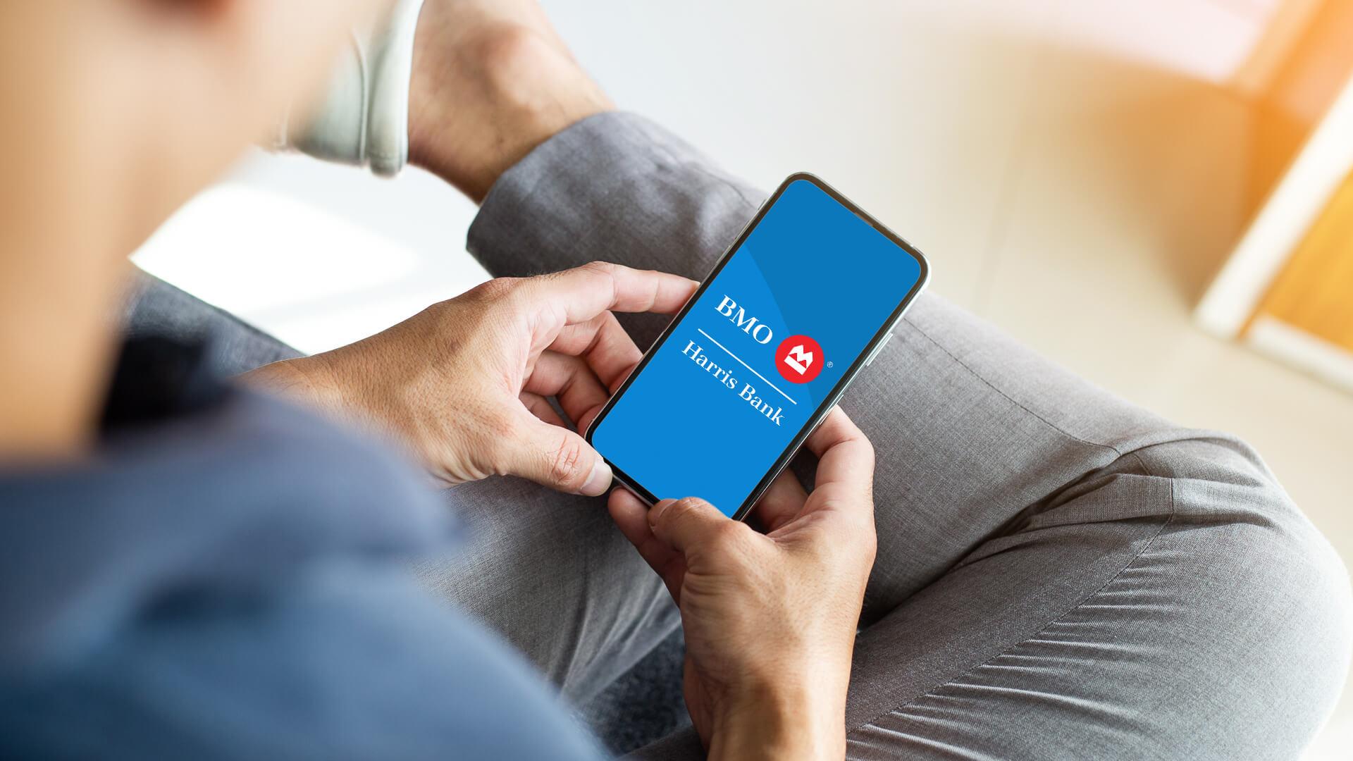 BMO Harris Bank mobile banking app