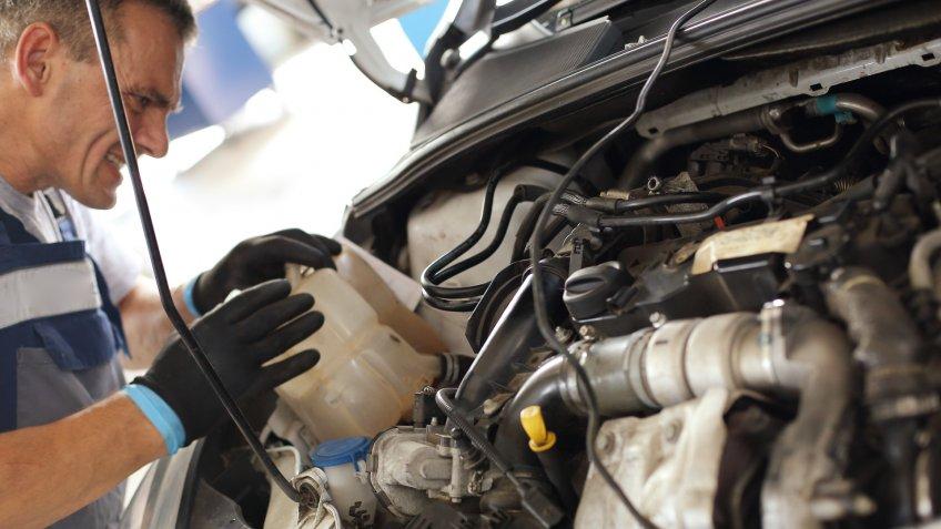 mechanic fuel pump