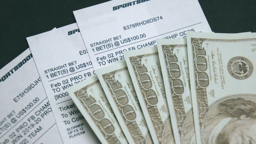 The business of betting on sports.
