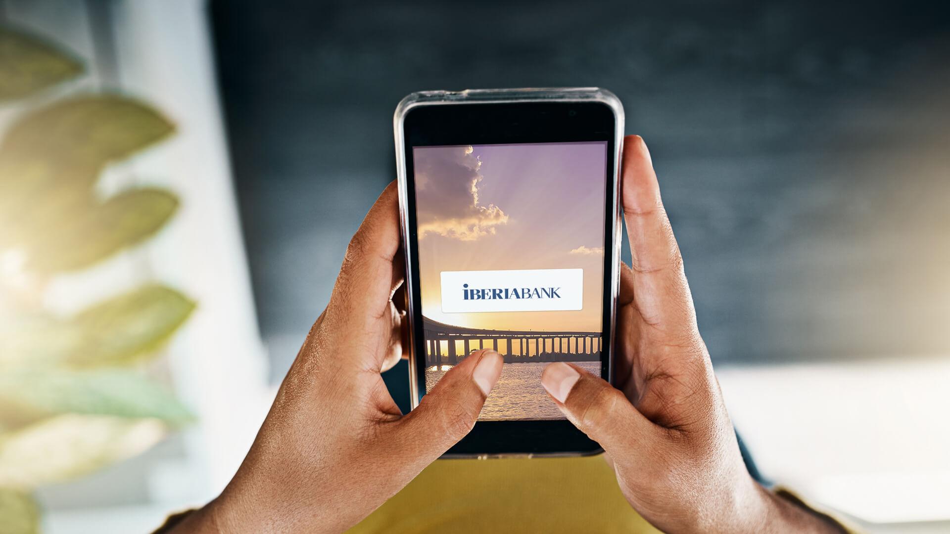 Iberiabank mobile banking app