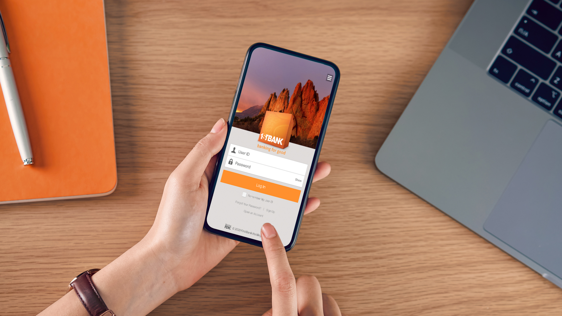 FirstBank mobile app