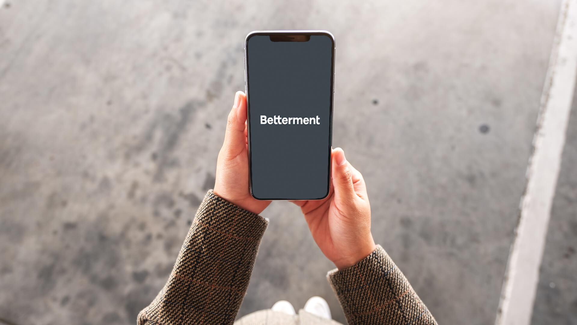 Betterment investment banking app