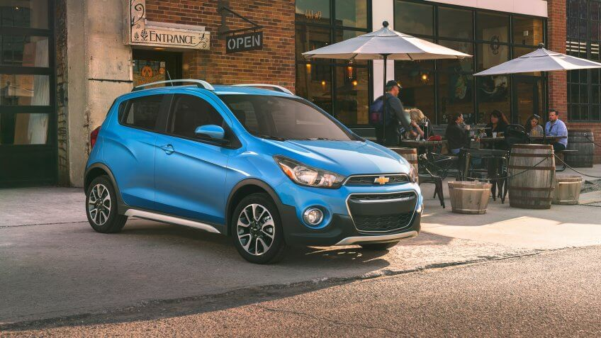 The 2017 Chevrolet Spark ACTIV is a sportier take on the brand's versatile, connected mini-car, featuring trail-inspired accents and upscale features that complement its urban-chic design.