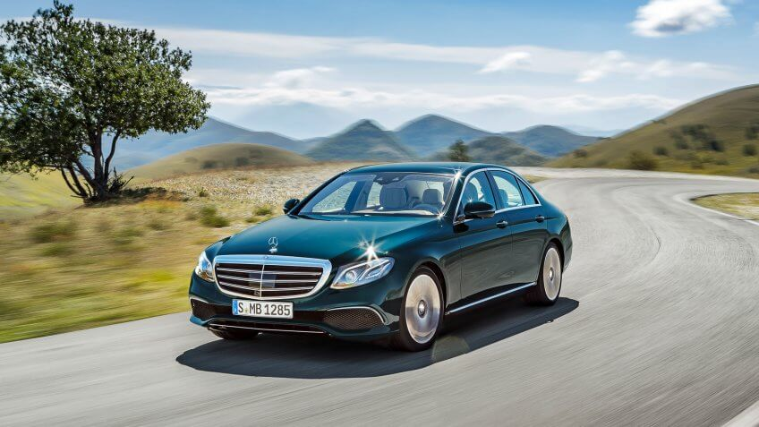 2017 marks the 10th generation of the Mercedes-Benz E-Class luxury sedan.