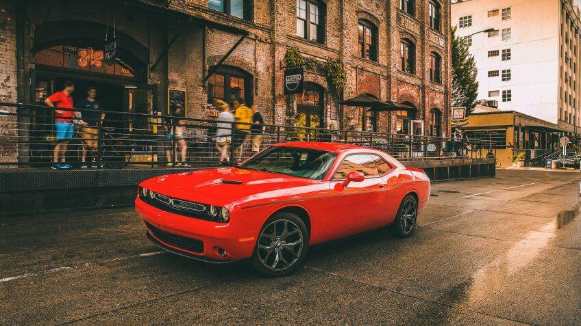 2019 Dodge Challenger SXT Plus.