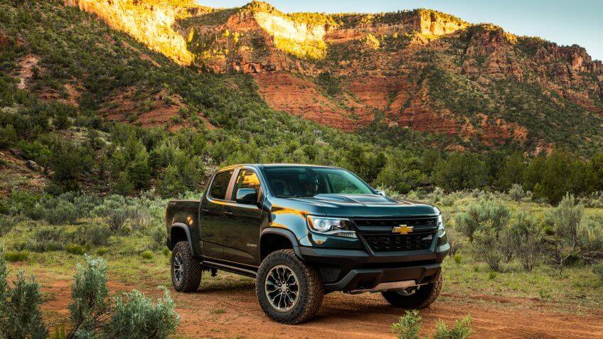 2020 Chevrolet Colorado ZR2.