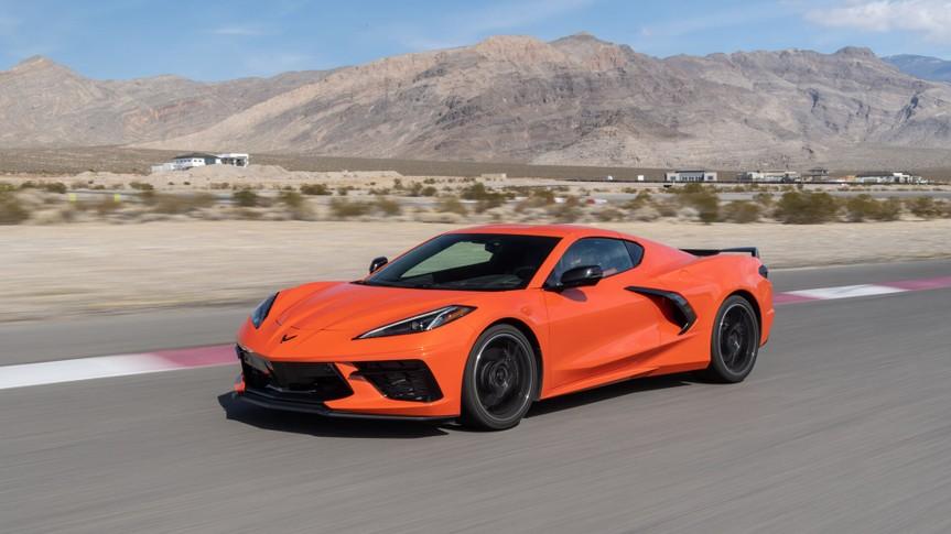 2020 Chevrolet Corvette Stingray.