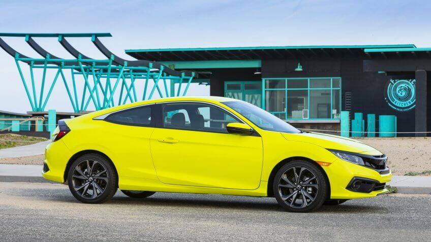 2020 Honda Civic Coupe Sport.