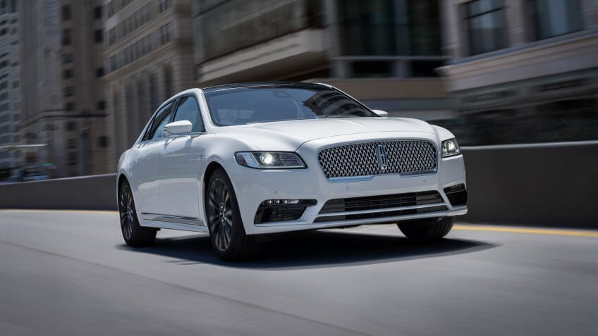 2020 Lincoln Continental with Reserve Monochromatic Appearance Package.