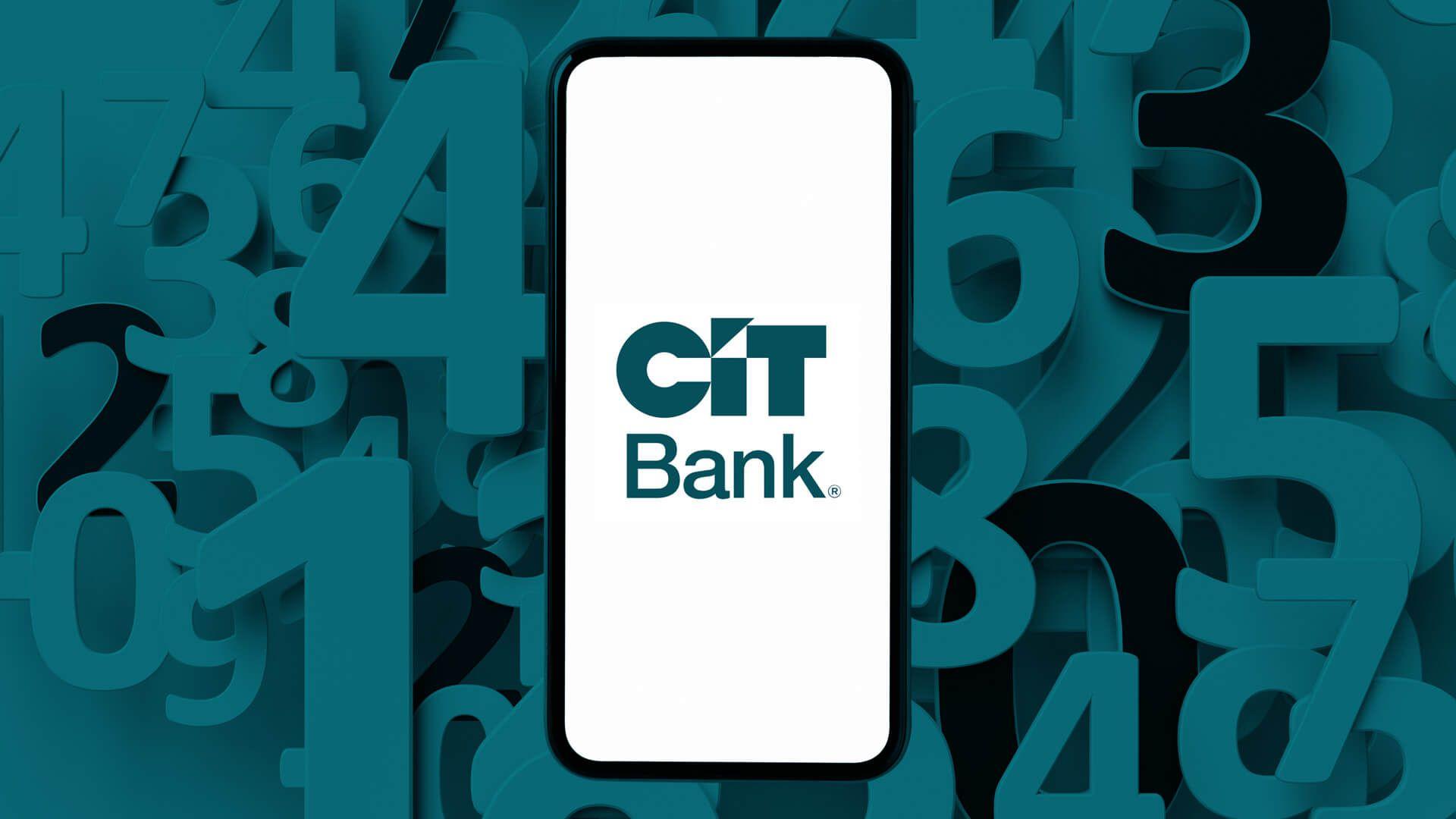 CIT Bank routing