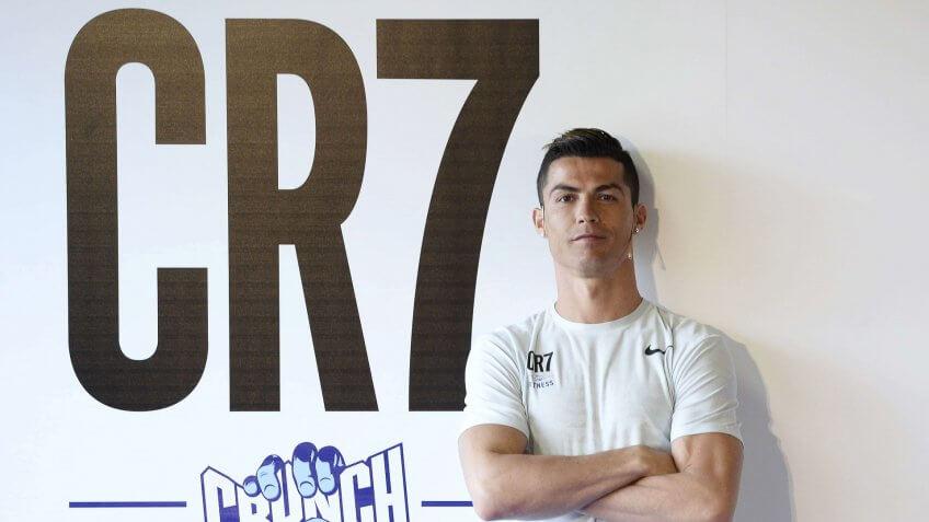 Cristiano RonaldoCR7 Crunch Fitness photocall, Madrid, Spain - 13 Mar 2017.