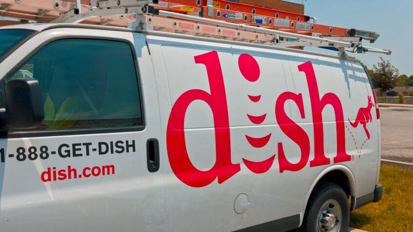 Indianapolis - Circa June 2016: DISH Network Company Vehicle.