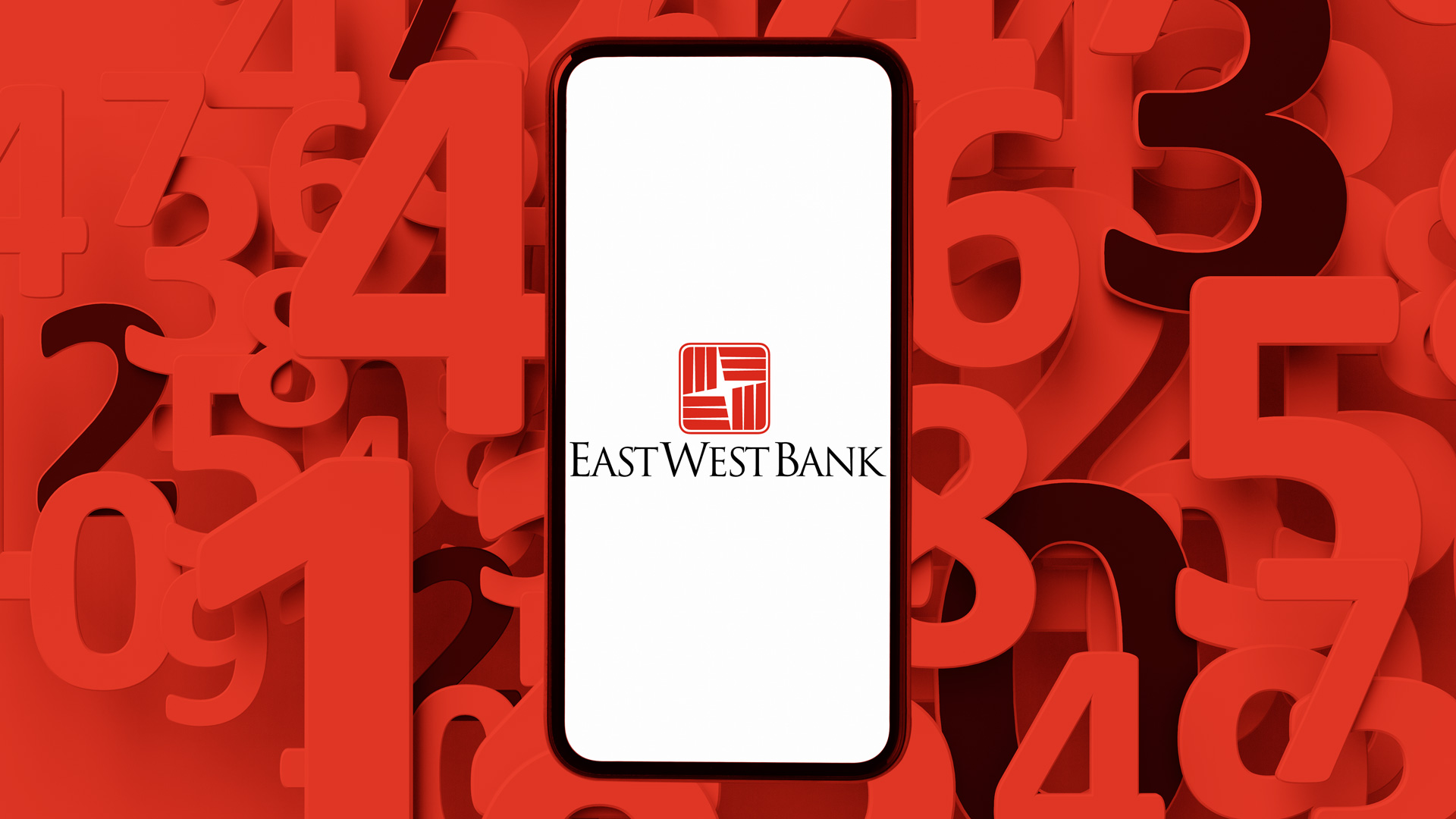 East West bank routing